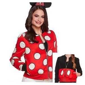 Disney Reversible Minnie and Mickey Bomber Jacket